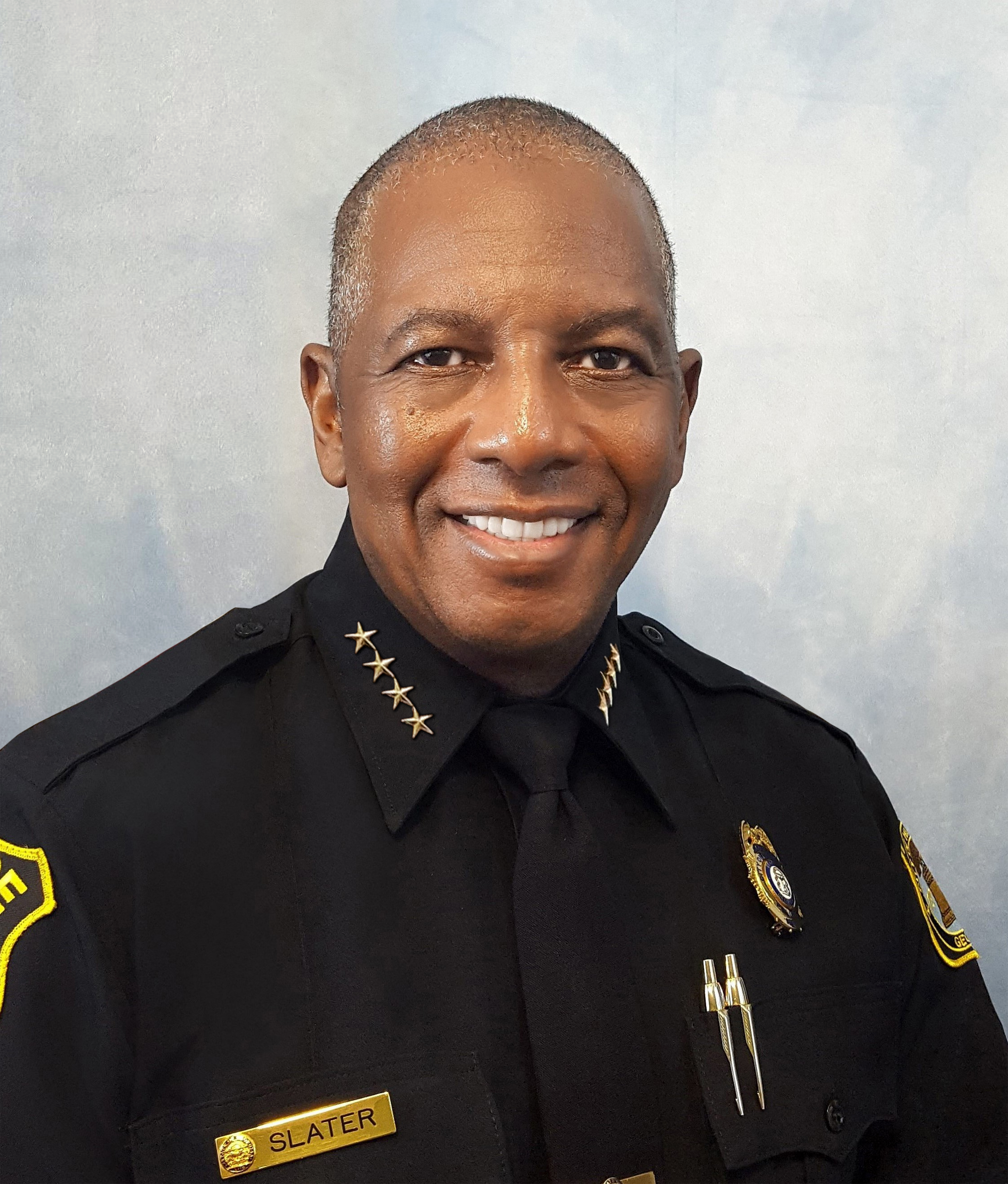 Hinesville Police Department Chief Lloyd Slater