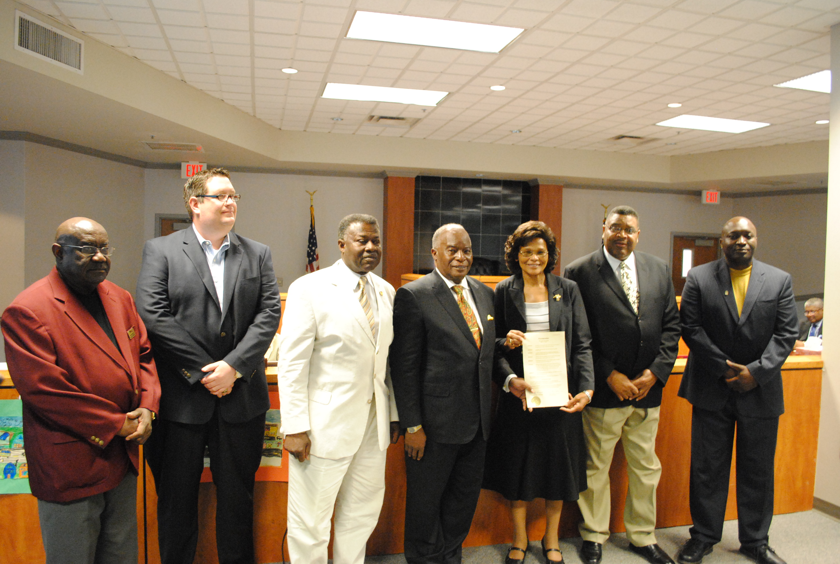 Hinesville Council Meeting