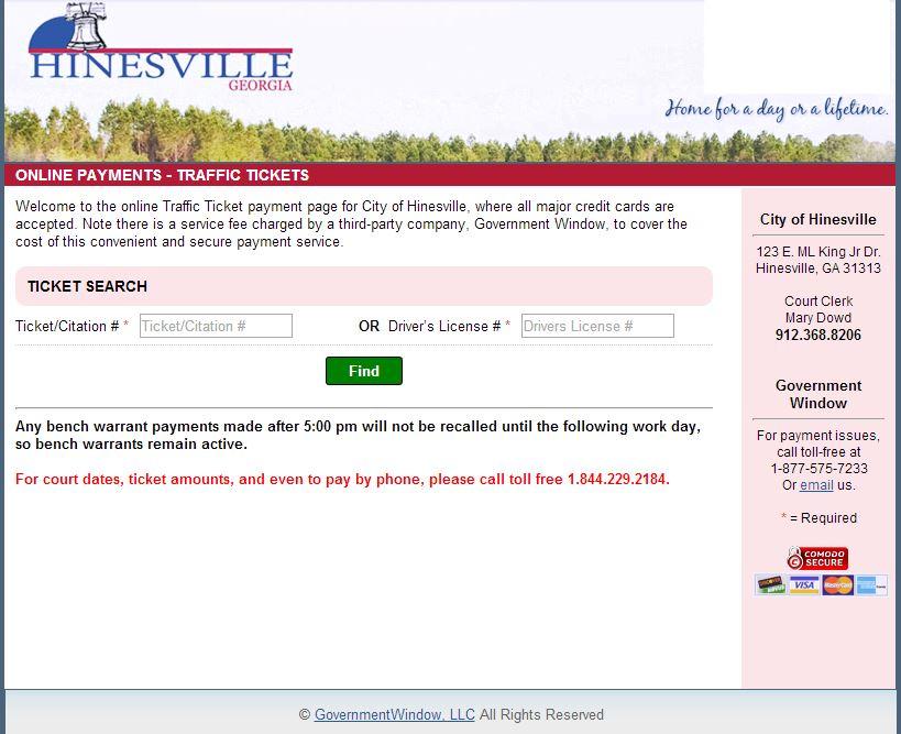 Online Bill Pay | Hinesville, GA