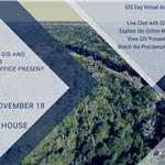 GIS Day 2020 will be 11.18.2020 from 9 a.m. - 4 p.m. virtually