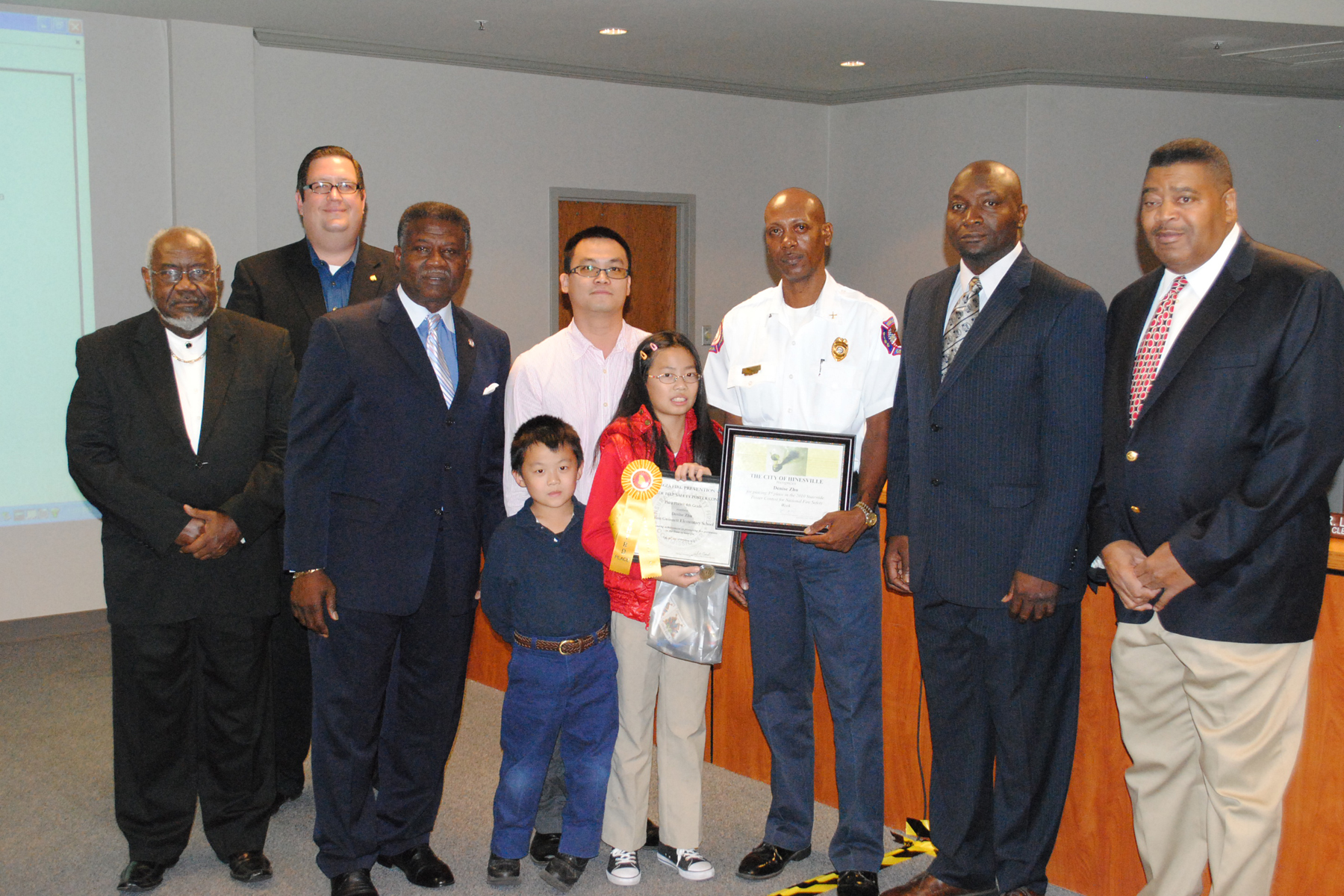 fire safety contest winner